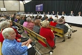 Hundreds attend the Federal community cabinet in Burnie Tasmania