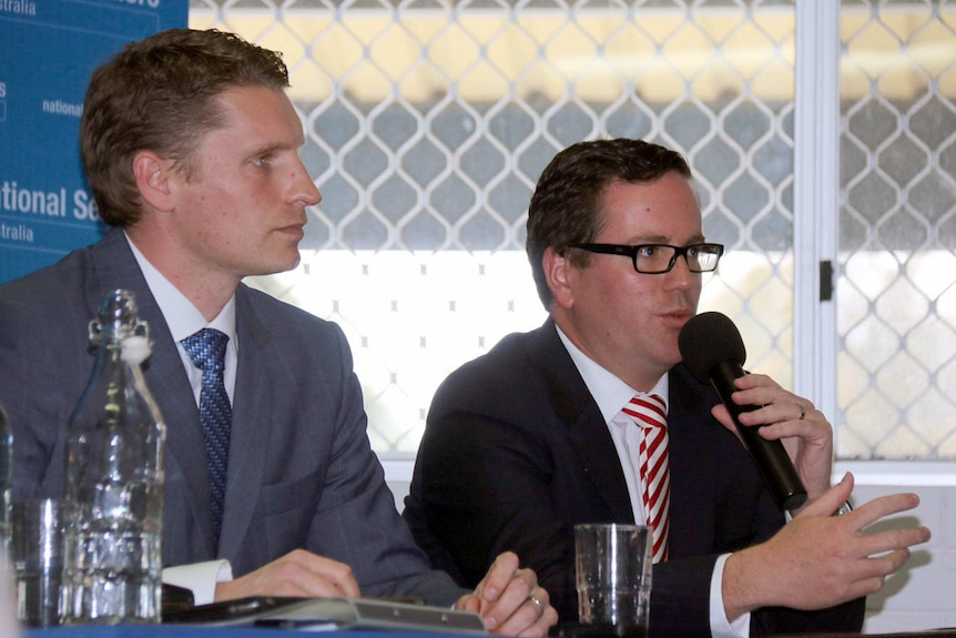 Andrew Hastie and Matthew Keogh