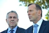 Joe Hockey and Tony Abbott