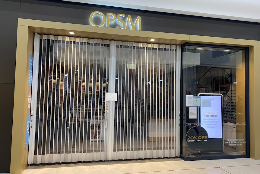 The OPSM at Golden Grove.