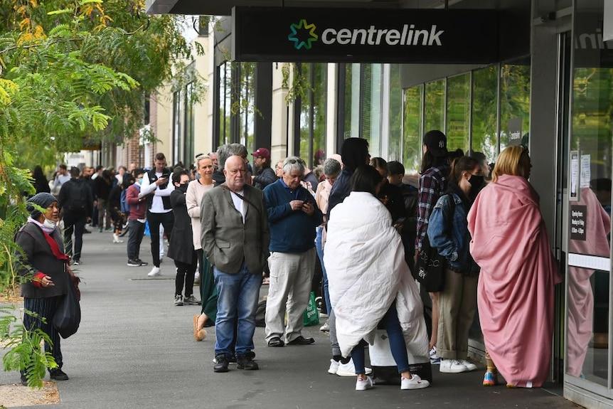 Centrelink queues