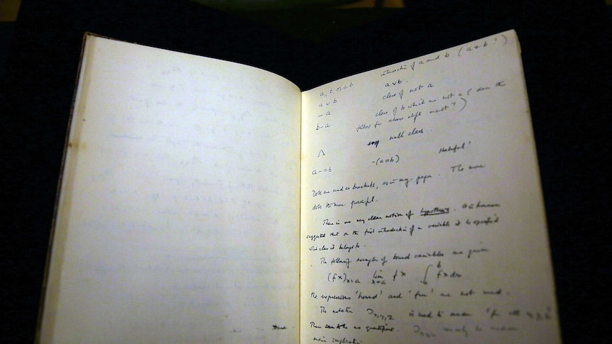 Alan Turing: notebook of father of modern computers fetches $1mil at auction