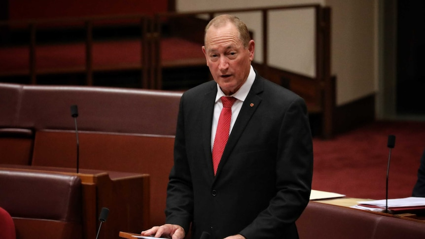 Fraser Anning delivers his maiden speech to Parliament.
