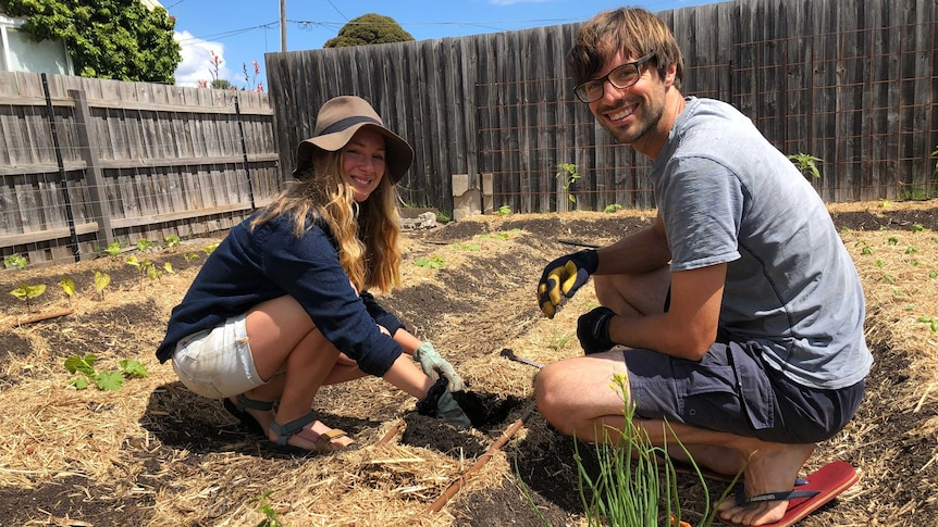 Catie Payne and George Clipp have long wanted to try their hand at farming.