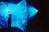 Eden, a work by Australian artist Jon McCormack that incorporates artificial intelligence.