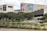 The Queensland Performing Arts Complex (QPAC) designed by architect Robin Gibson.