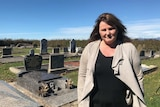 Sharon Eyles' 21-month-old son was buried at the Hagley cemetery