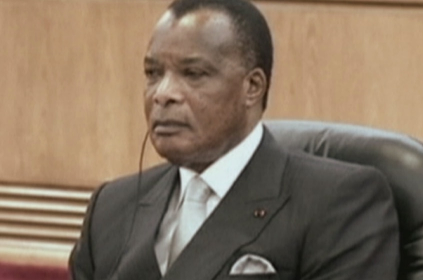 Republic of Congo President Denis Sassou Nguesso