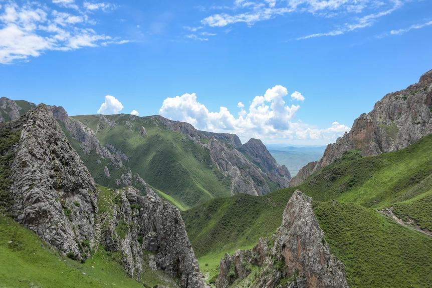 Jiangla Valley on the Tibetan Plateau