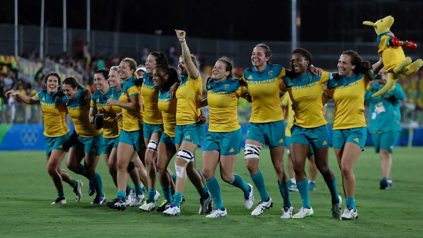 The new pay deal is a win for Australia's Olympic gold medal-winning women's sevens squad.