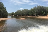 The Katherine River flowing on a sunny day.