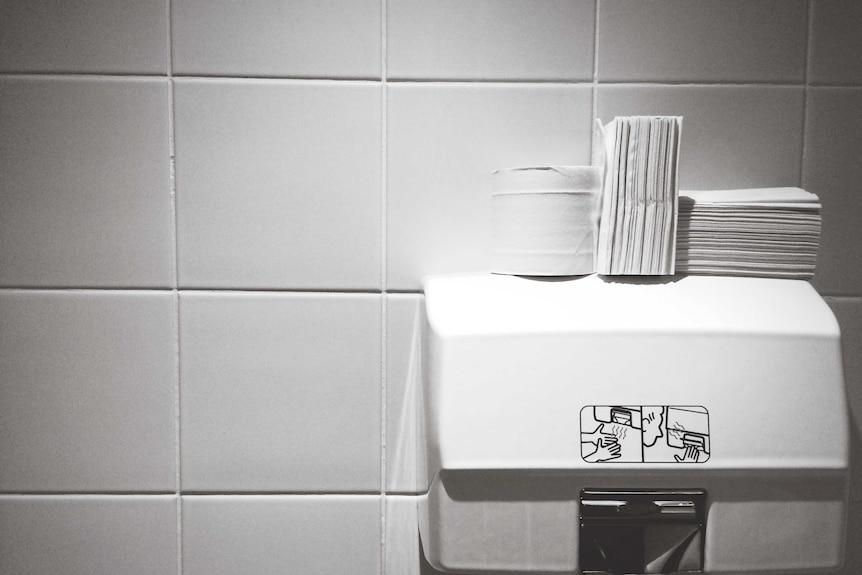 Hand drying options