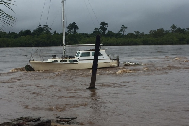 Boat moved off mooring