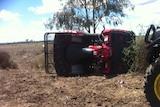 Quad bike tip