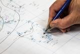Hand drawn map.