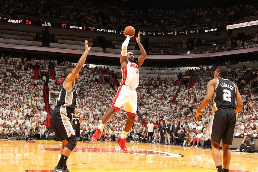 LeBron James helps Miami to another NBA title