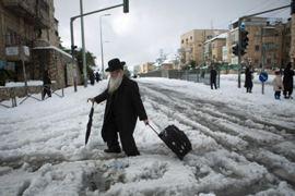 Israel snow custom image