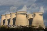 Ferrybridge C power station in northern England