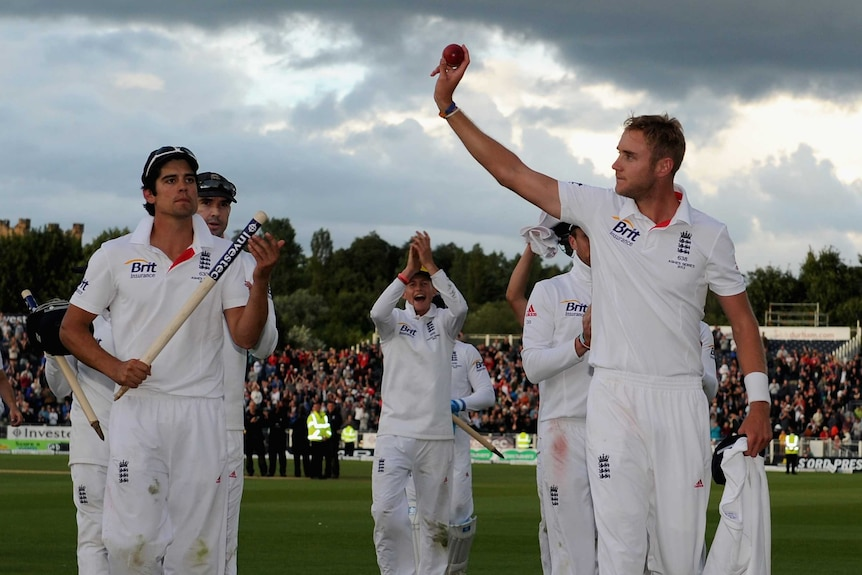 Broad thanks Durham crowd after 11-wicket match
